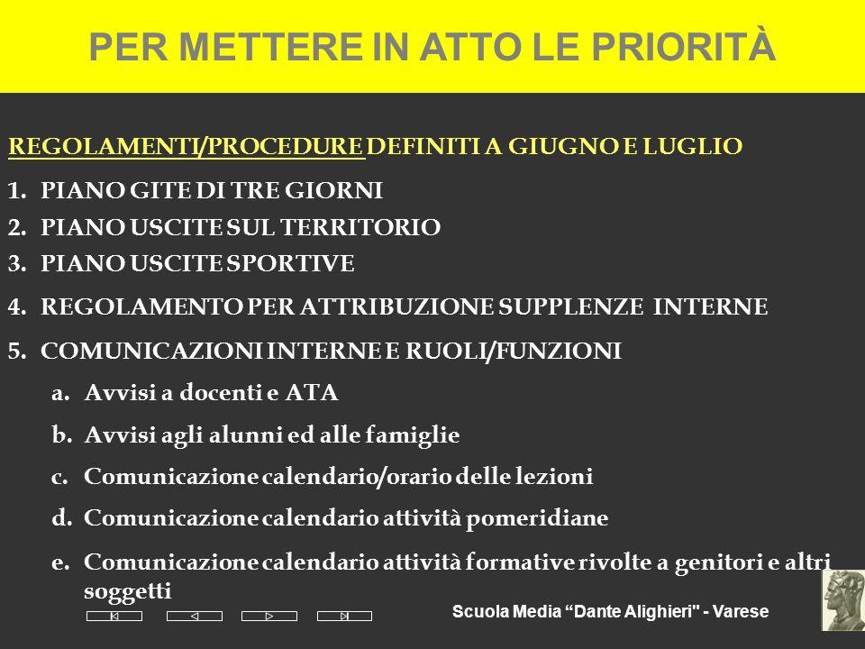 Scuola Media Dante Alighieri