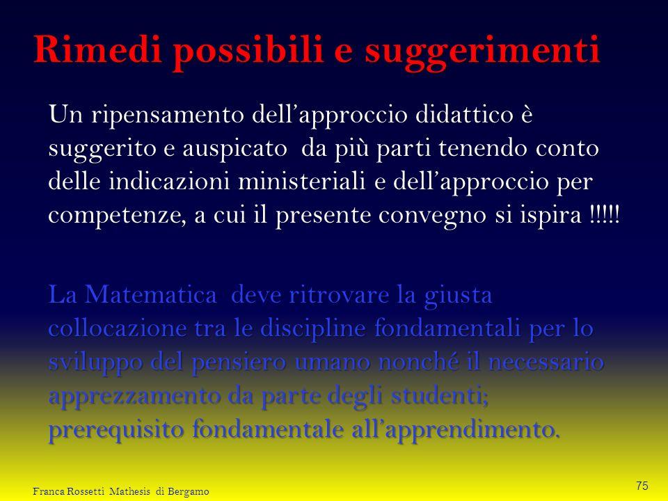 Un ripensamento dellapproccio didattico è suggerito e auspicato da più parti tenendo conto delle indicazioni ministeriali e dellapproccio per competen