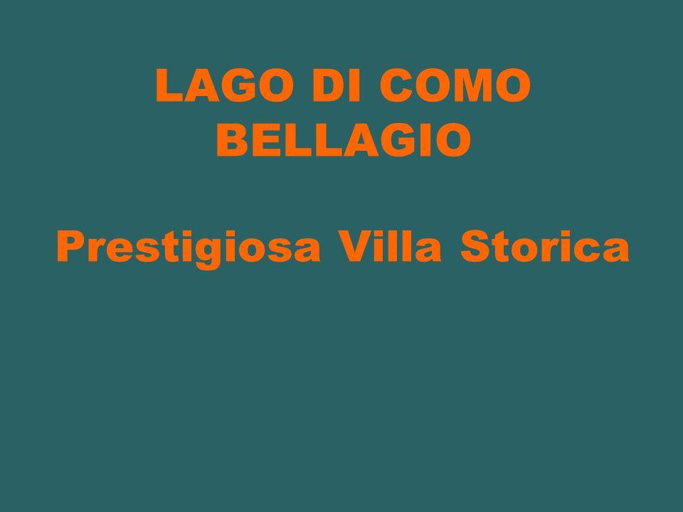 LAGO DI COMO BELLAGIO Prestigiosa Villa Storica