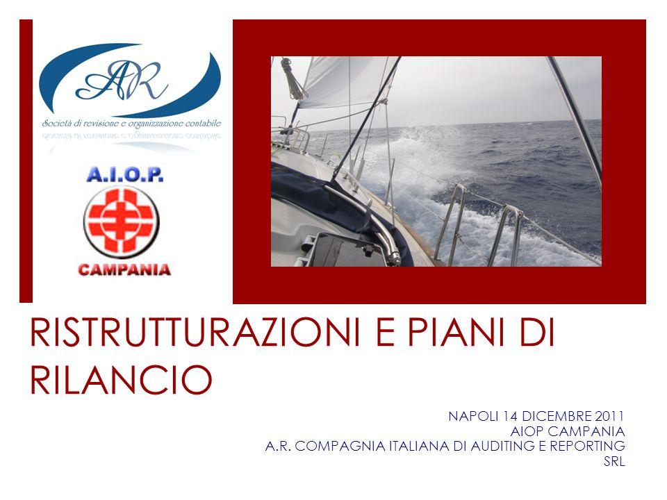 RISTRUTTURAZIONI E PIANI DI RILANCIO NAPOLI 14 DICEMBRE 2011 AIOP CAMPANIA A.R. COMPAGNIA ITALIANA DI AUDITING E REPORTING SRL