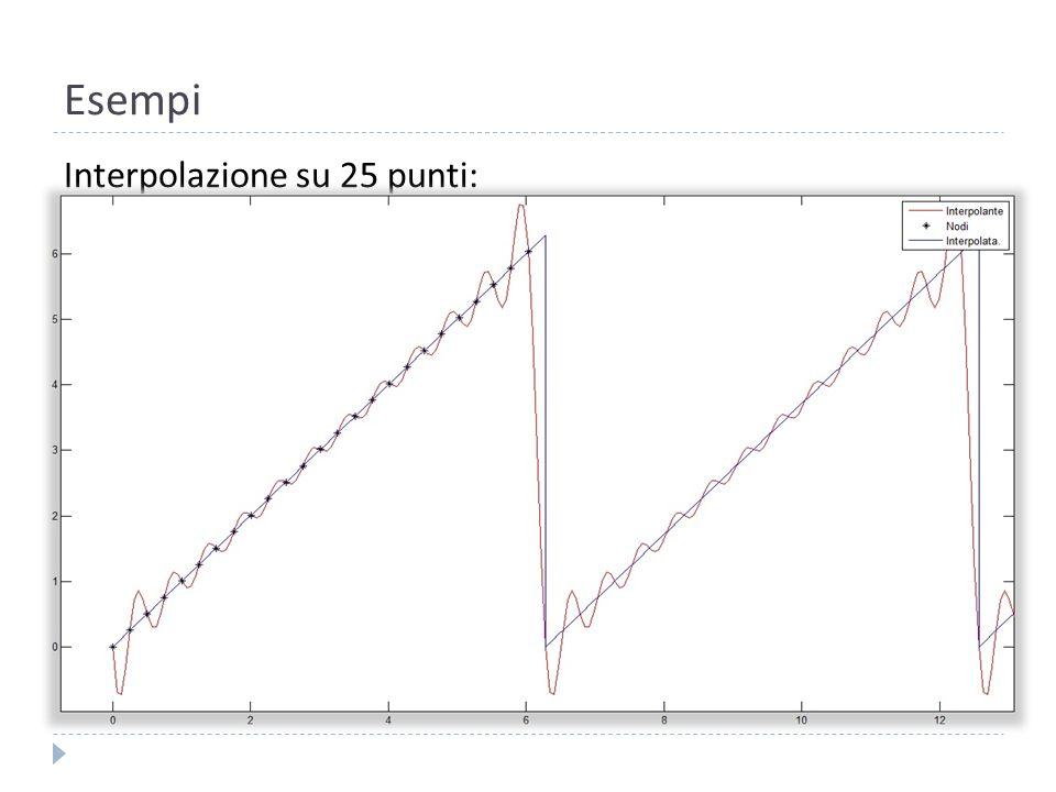 Esempi Proviamo con: e n=5