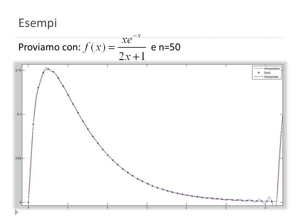 Implementazione in MatLab InterpolazioneTri.m