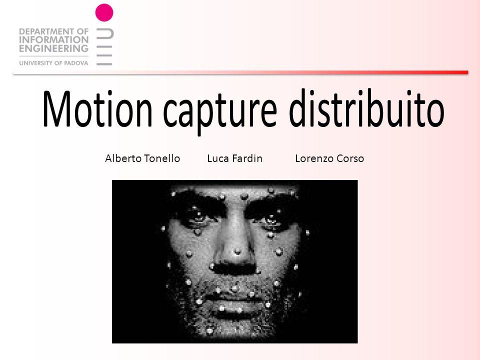 Obiettivo Implementare il passive motion capture in modo distribuito Rappresentare l incertezza nell errore di ricostruzione dei marker