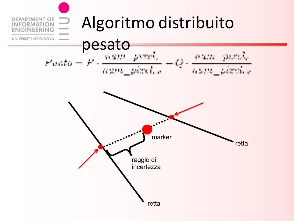 Algoritmo distribuito pesato