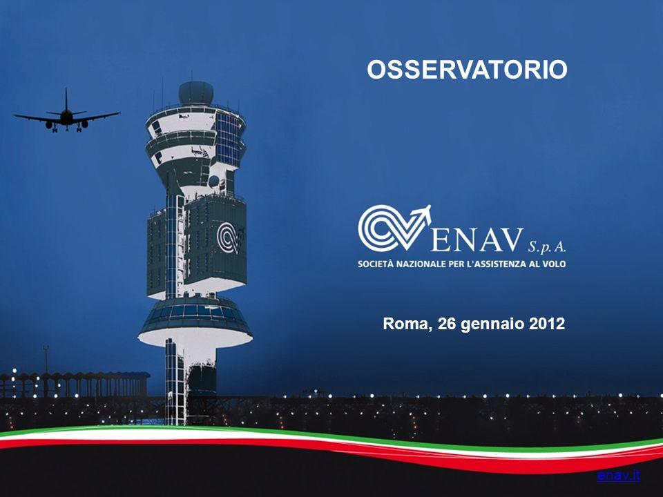 enav.it OSSERVATORIO Roma, 26 gennaio 2012