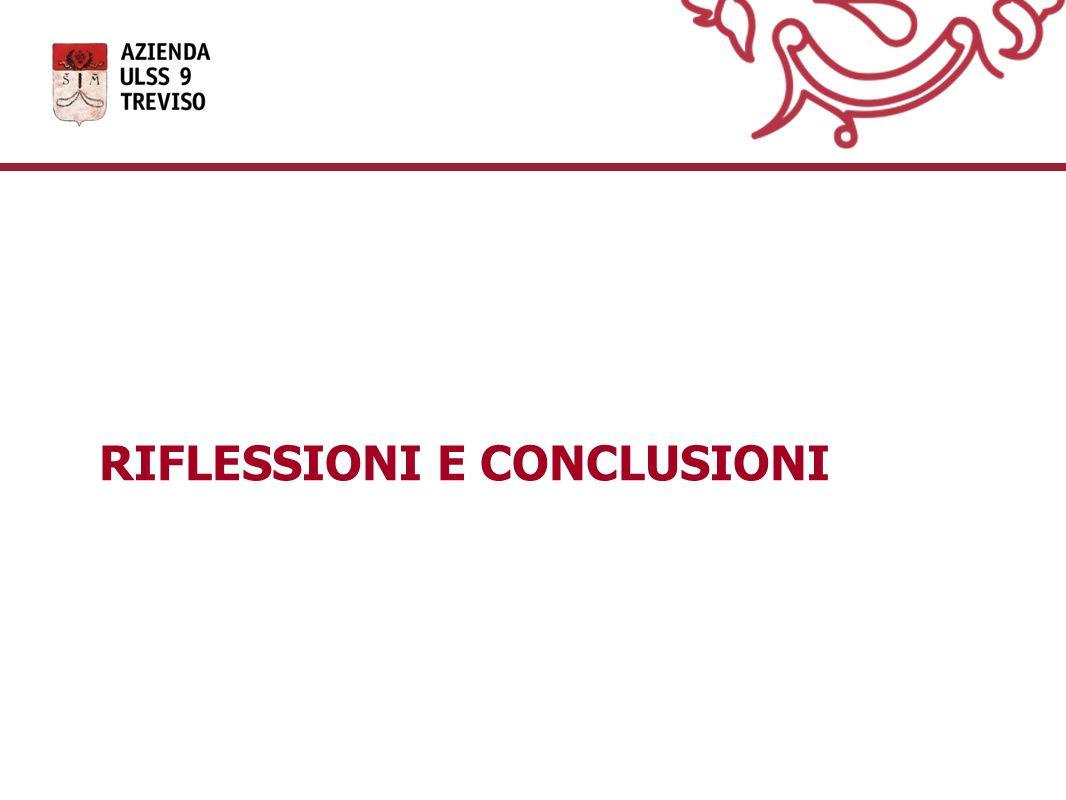 RIFLESSIONI E CONCLUSIONI