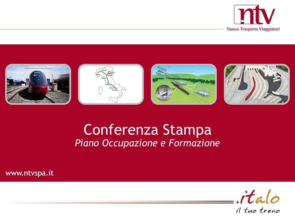 www.ntvspa.it Conferenza Stampa Piano Occupazione e Formazione
