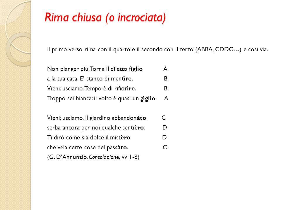 Preferenza Poesie Con La Rima Baciata - qakegu57's soup MF35