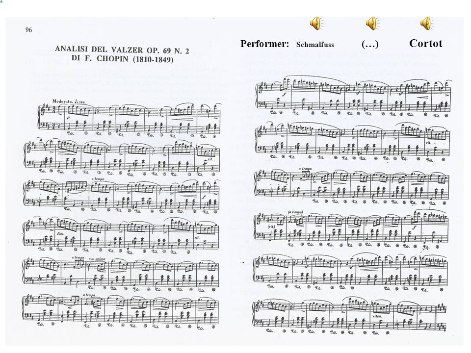 Performer: Schmalfuss (…) Cortot