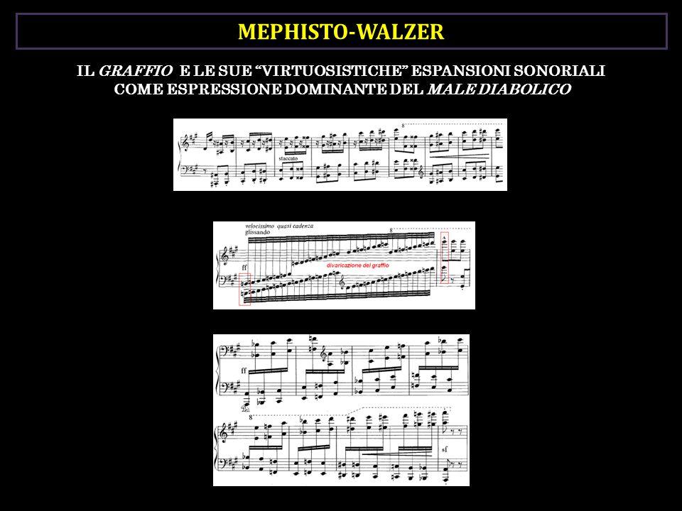 MEPHISTO-WALZER IL GRAFFIO E LE SUE VIRTUOSISTICHE ESPANSIONI SONORIALI COME ESPRESSIONE DOMINANTE DEL MALE DIABOLICO