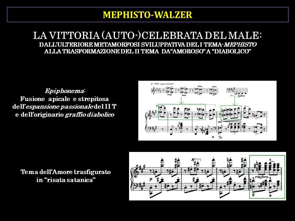 MEPHISTO-WALZER LA VITTORIA (AUTO-)CELEBRATA DEL MALE: DALLULTERIORE METAMORFOSI SVILUPPATIVA DEL I TEMA-MEPHISTO ALLA TRASFORMAZIONE DEL II TEMA DAAM