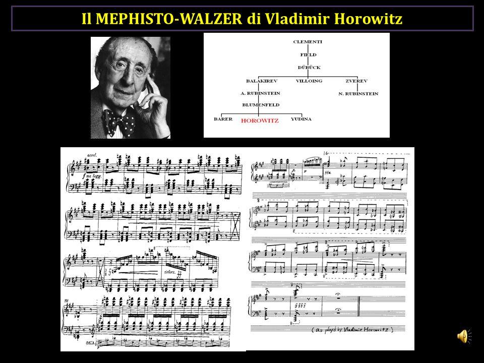 Il MEPHISTO-WALZER di Vladimir Horowitz