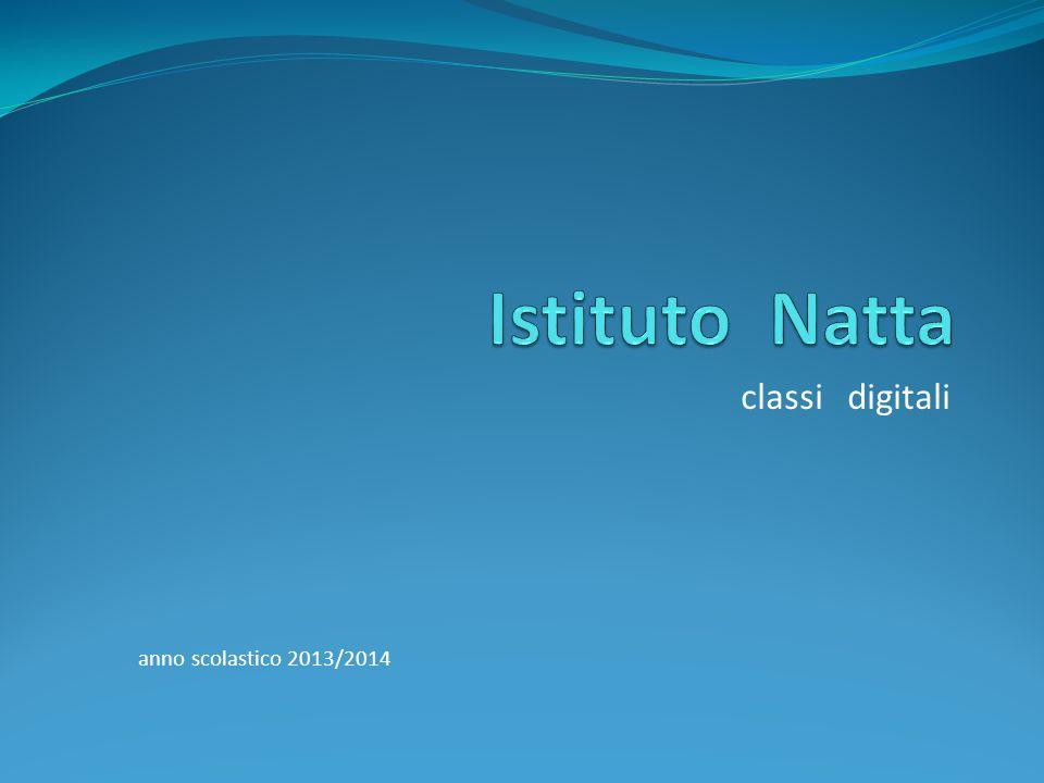 classi digitali anno scolastico 2013/2014