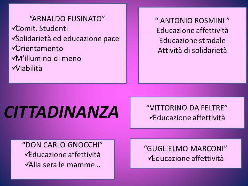 CITTADINANZA ARNALDO FUSINATO Comit.