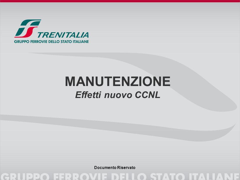 Documento Riservato MANUTENZIONE Effetti nuovo CCNL