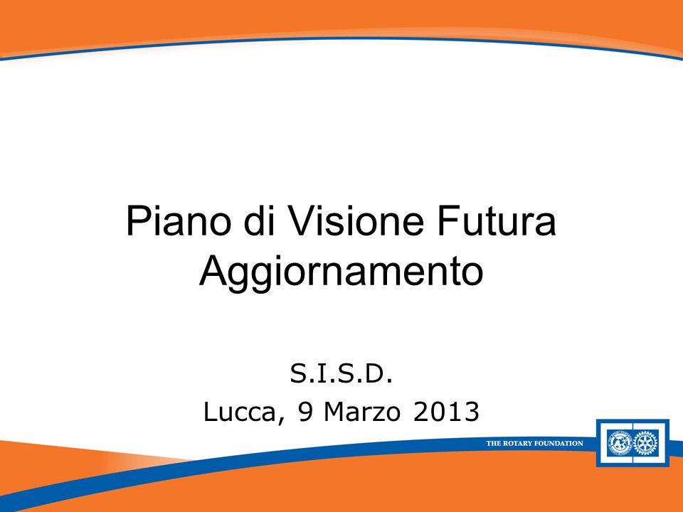 Piano di Visione Futura - Aggiornamento Piano di Visione Futura Aggiornamento S.I.S.D.