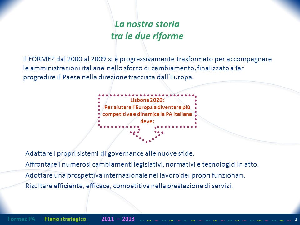Formez PAPiano strategico2011– 2013 …… … …… … …… … …… … …… … …… … …… … 35