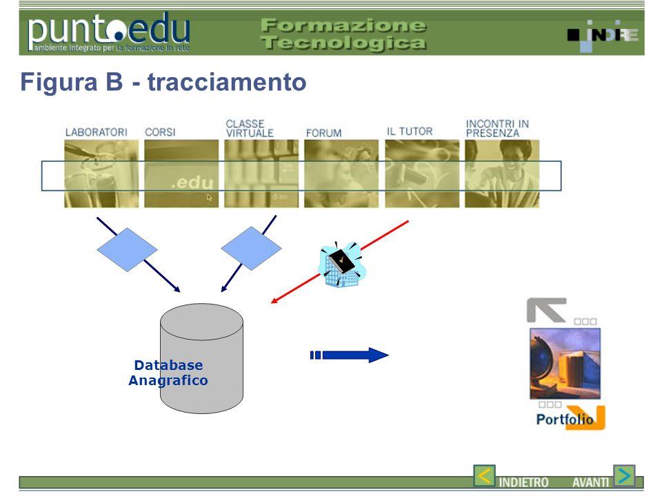 Database Anagrafico Figura B - tracciamento