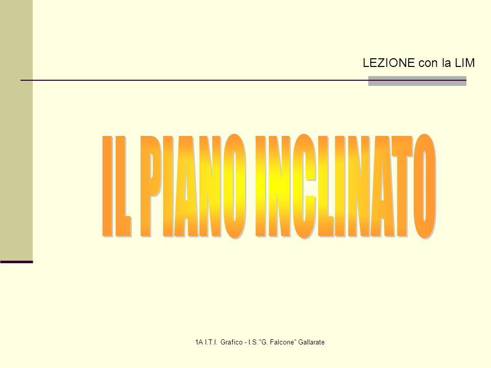 1A I.T.I. Grafico - I.S. G. Falcone Gallarate LEZIONE con la LIM