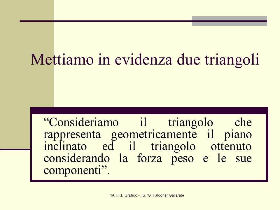1A I.T.I.Grafico - I.S. G.