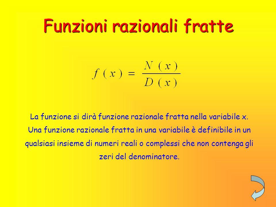 Funzioni razionali intere Una funzione di primo grado, o lineare, viene rappresentata sul piano cartesiano da una RETTA Funzioni di grado superiore al primo Funzione di secondo grado È rappresentato da una PARABOLA Funzione di grado superiore al secondo È rappresentata da una CURVA Funzioni di primo grado