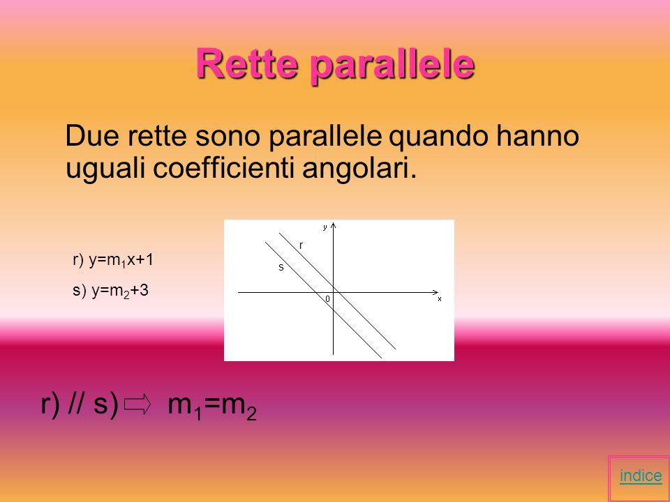 Rette perpendicolari Due rette sono perpendicolari se incidendosi formano 4 angoli retti.