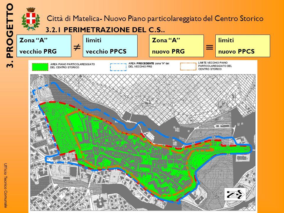 Ufficio Tecnico Comunale 3.2.1PERIMETRAZIONE DEL C.S..