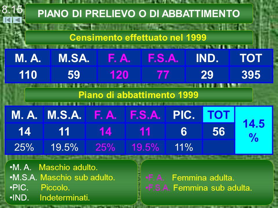 8.15 PIANO DI PRELIEVO O DI ABBATTIMENTO M. A.M.SA.F.