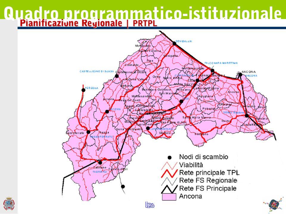 Pianificazione Regionale | PRTPL Quadro programmatico-istituzionale