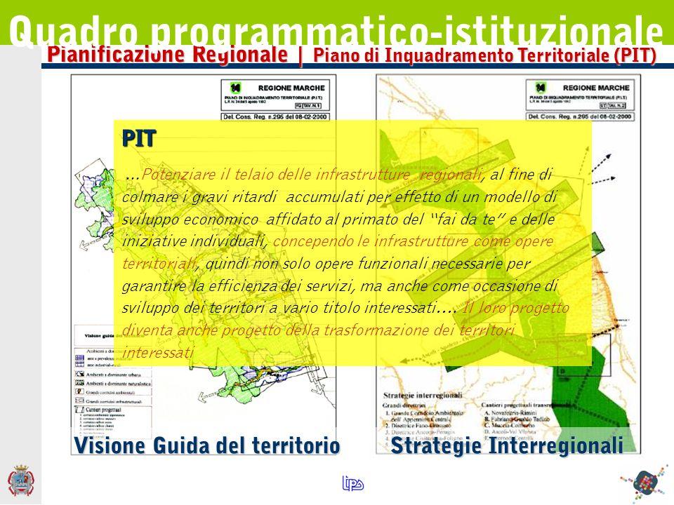 Pianificazione Regionale | Strade di interesse Regionale Quadro programmatico-istituzionale