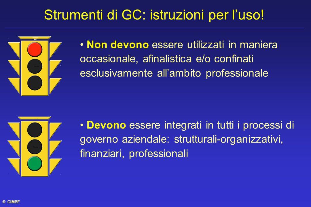 Non devono essere utilizzati in maniera occasionale, afinalistica e/o confinati esclusivamente allambito professionale Strumenti di GC: istruzioni per