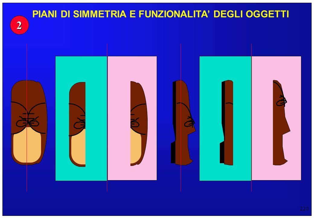 220 2 PIANI DI SIMMETRIA E FUNZIONALITA DEGLI OGGETTI