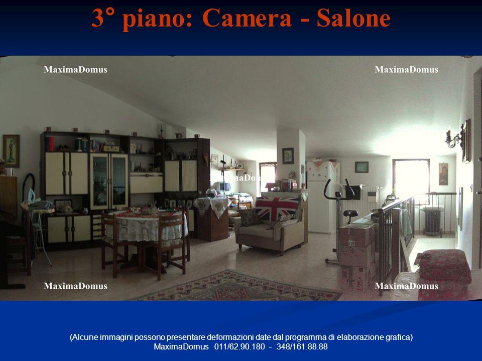3° piano: Camera - Salone