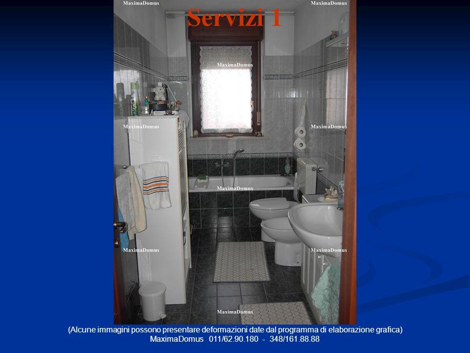(Alcune immagini possono presentare deformazioni date dal programma di elaborazione grafica) MaximaDomus 011/62.90.180 - 348/161.88.88 Servizi 1