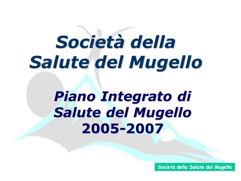 Società della Salute del Mugello Piano Integrato di Salute del Mugello 2005-2007