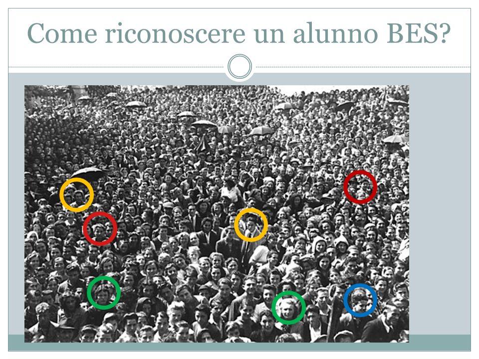 Come riconoscere un alunno BES?