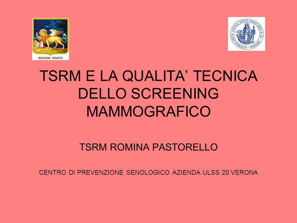 TRE PRINCIPI FONDAMENTALI CONTROLLI DI QUALITA ALLE APPARECCHIATURE MAMMOGRAFICHE; CRITERI DI CORRETTEZZA DELLESAME MAMMOGRAFICO; FORMAZIONE TECNICA CONTINUA IN CAMPO SENOLOGICO.