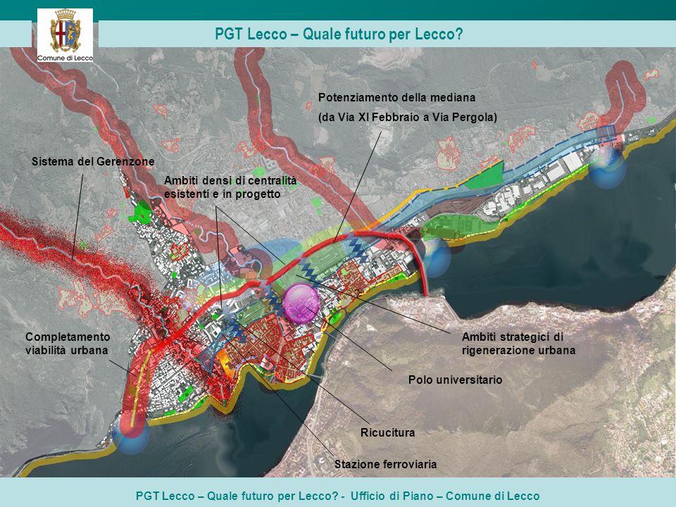 PGT Lecco – Quale futuro per Lecco.