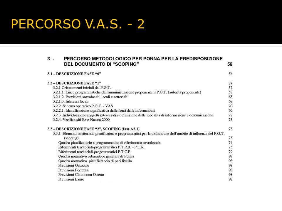 PERCORSO V.A.S. - 2