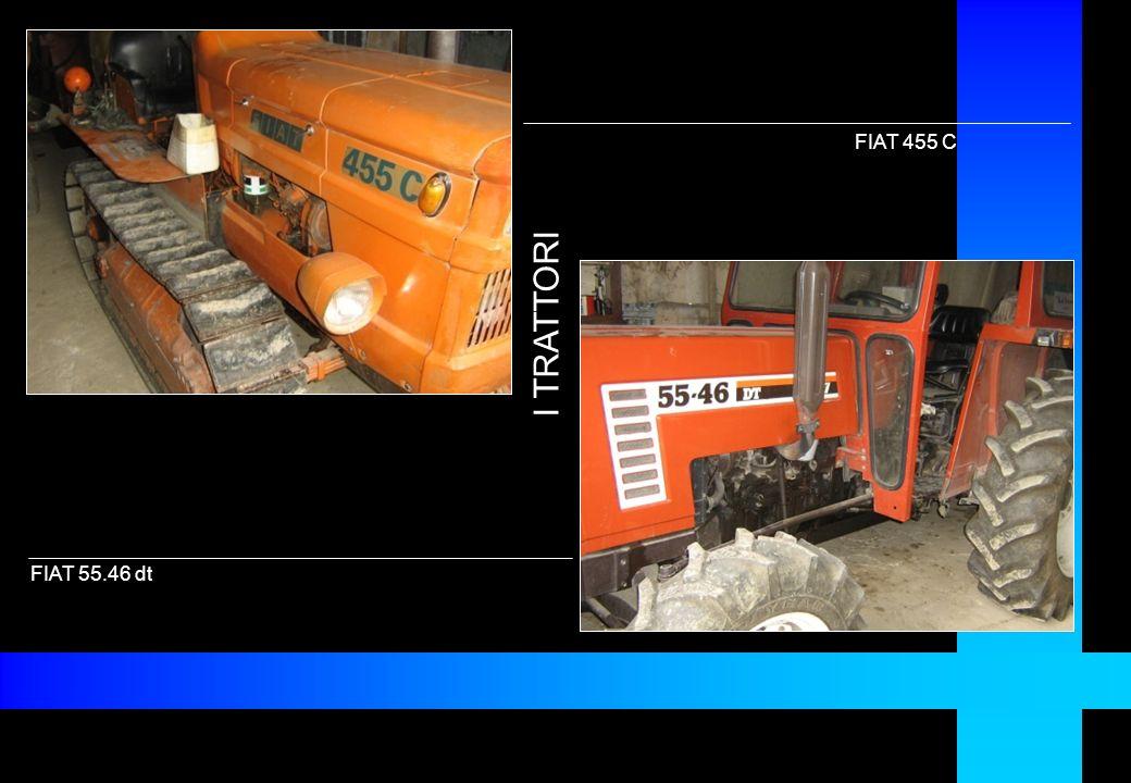 FIAT 55.46 dt FIAT 455 C I TRATTORI