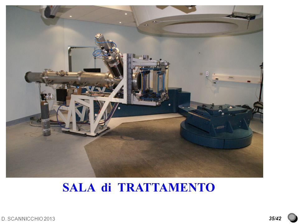 D. SCANNICCHIO 2013 35/42 SALA di TRATTAMENTO