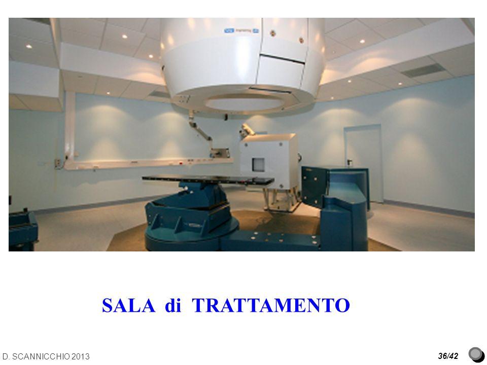D. SCANNICCHIO 2013 36/42 SALA di TRATTAMENTO