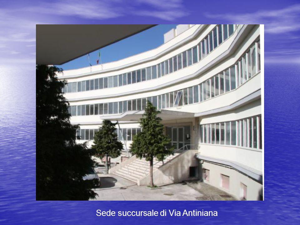 Sede succursale di Via Antiniana