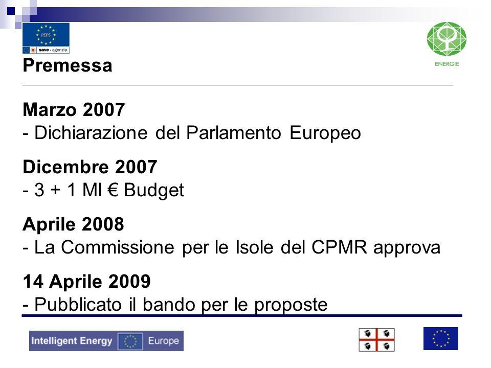 Premessa _______________________________________________________________________________________________ Marzo 2007 - Dichiarazione del Parlamento Eur