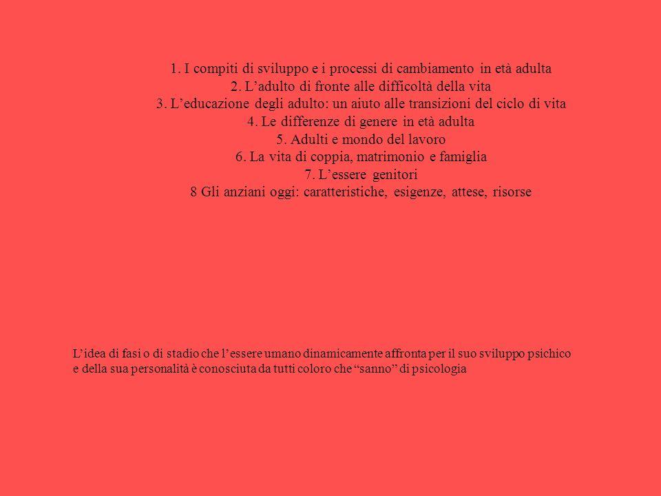 MODULO N.5 ETA ADULTA ED ANZIANI RELATORE : Dr.