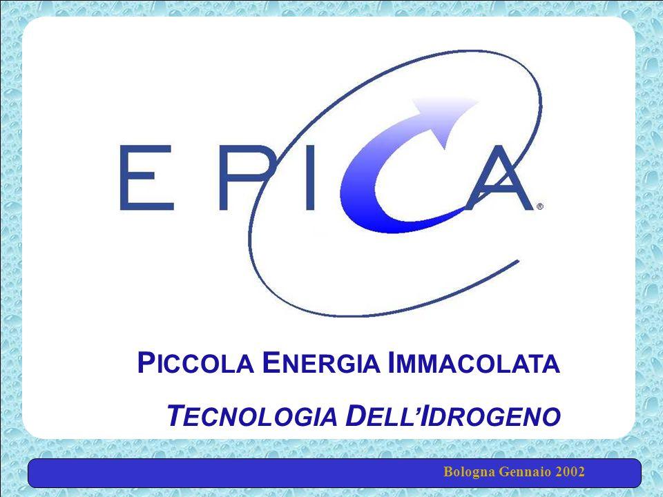 Bologna Gennaio 2002 P ICCOLA E NERGIA I MMACOLATA T ECNOLOGIA D ELL I DROGENO