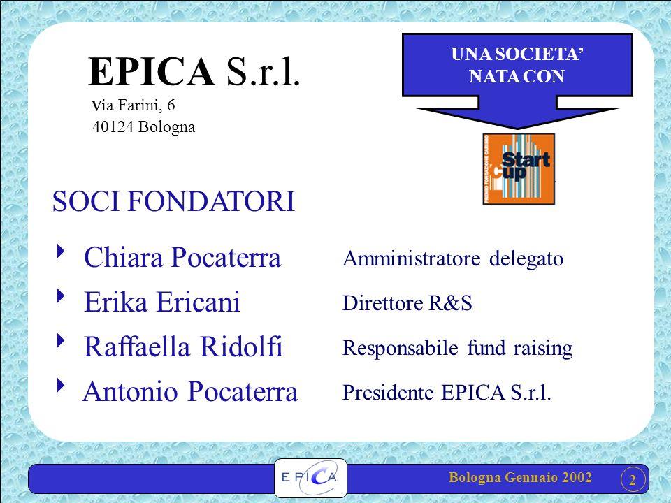 Bologna Gennaio 2002 2 EPICA S.r.l.