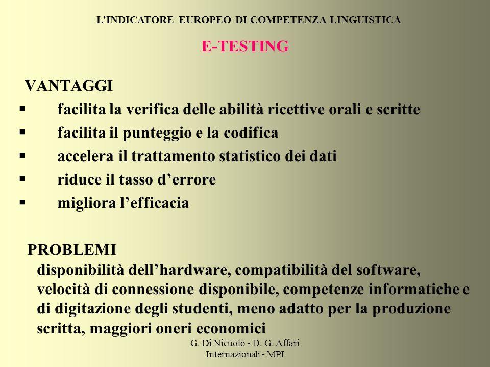 G. Di Nicuolo - D. G.