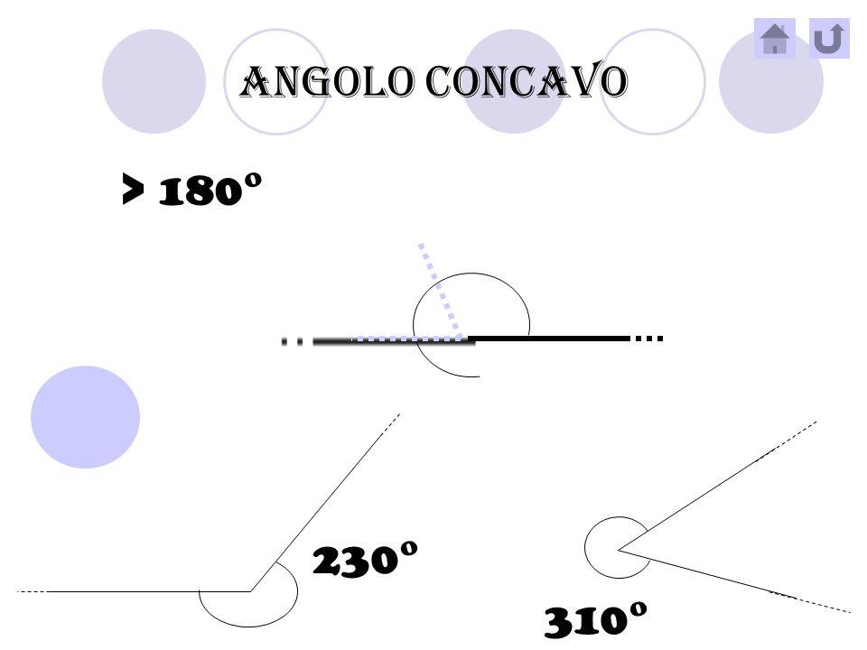 ANGOLO OTTUSO >90° < 180° 132° 120°
