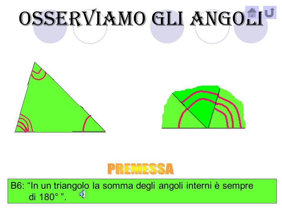 OSSERVIAMO I LATI SCALENO B5: Un triangolo in cui tutti i suoi lati sono diversi si chiama scaleno.